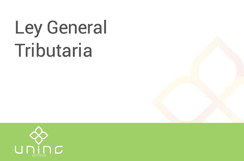 general-tributaria