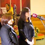 Bienvenida de la Rectora de la UHU, Dª Mª Antonia Peña Guerrero