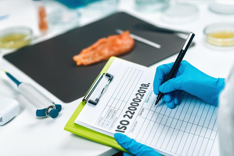 seguridad alimentaria con ISO 22000