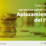 Aplazamiento del IVA